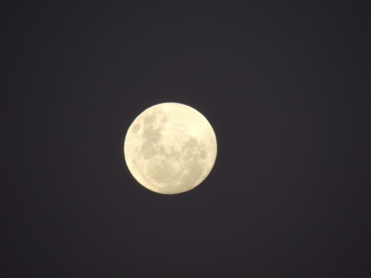 In Her fullness last moon for 2012.