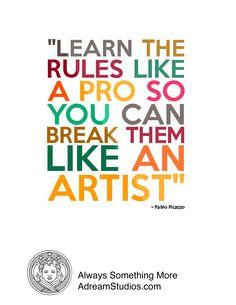 Creative rebels needed..always.